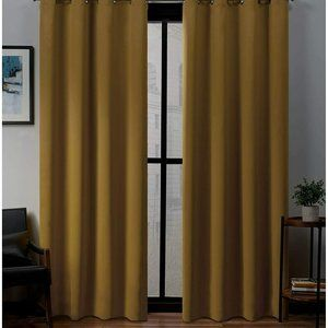 Exclusive Home Curtains Sateen Twill Woven Blackou